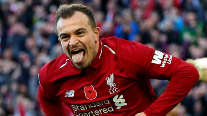 Shaqiri is optimistic he can score more goals for Liverpool